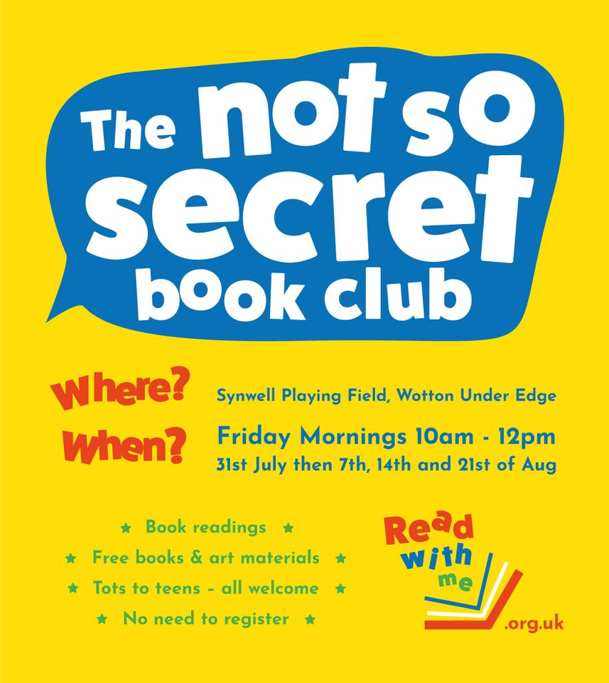 Not So Secret Book Club – Wotton Under Edge