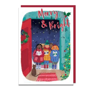 Christmas Cards: Red
