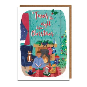 Christmas Cards: Night Before Christmas (5 pack)